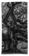Angel Oak Tree Americana Beach Towel