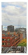 Angel Of Old Montreal Beach Towel