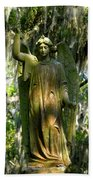 Angel Of Savanna Beach Towel