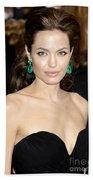 Angelina Jolie Beach Towel by Nina Prommer