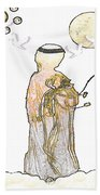 Angelita Blanco Beach Towel