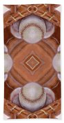 Angels In The Outfield Beach Towel by Maria Watt