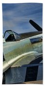 Angels Playmate P-51 Beach Towel