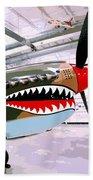 Anger Management Palm Springs Air Museum Beach Towel