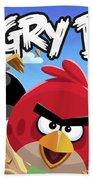 Angry Birds Beach Towel