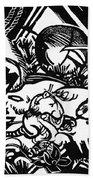 Animal Legend 1912 Beach Towel