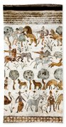 Animals Past And Present Beach Sheet