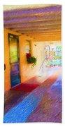 Anna Maria Elementary Office Hallway C130662 Beach Towel