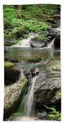 Anna Ruby Falls Beach Towel