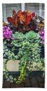 Annapolis Flower Box Beach Towel