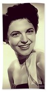 Anne Bancroft, Vintage Actress Beach Towel