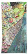 Annunciation Beach Towel