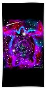 Another Cosmic Sea Turtle Beach Towel