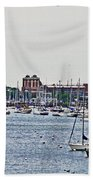 Another Harbor View Beach Towel