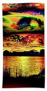 Another Wicked Sunset Beach Towel