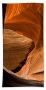 Antelope Canyon No 3 Beach Towel