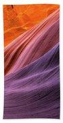 Antelope Rainbow Color Wave  Beach Towel