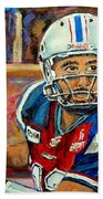 Anthony Calvillo Beach Towel