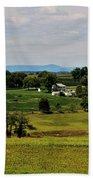 Antietam Battlefield And Mumma Farm Beach Towel