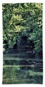 Antietam Creek Beach Towel