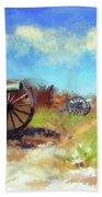 Antietam Under Blue Skies  Beach Towel