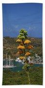 Antigua National Flower  Beach Towel