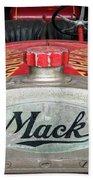Antique 1930 Mack Bc-cd Fire Truck Beach Towel