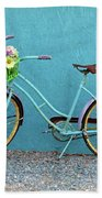 Antique Bicycle Beach Towel