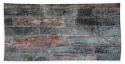 Antique Brick Wall Beach Towel
