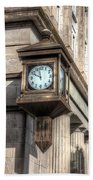 Antique Clock  Edenton North Carolina Beach Towel