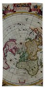 Antique Map Vintage Very Stylish Piece Beach Towel