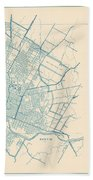 Antique Maps - Old Cartographic Maps - Antique Map Of Travis County, Texas, 1936 Beach Towel