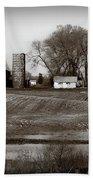 Antique Michigan Farm Beach Towel