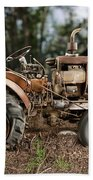 Antique Tractor Beach Towel