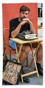 Antoine Beach Towel by Steve Harrington