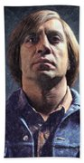 Anton Chigurh Beach Towel