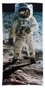 Apollo 11 Buzz Aldrin Beach Towel