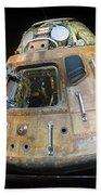 Apollo 14 Command Module Kitty Hawk Beach Towel