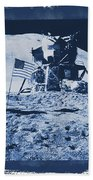 Apollo 15 Mission To The Moon - Nasa Beach Towel