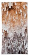Apostle Islands Icicle Cave Beach Towel