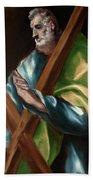 Apostle Saint Andrew Beach Towel