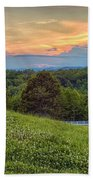 Appalachian Evening Beach Towel