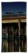 Appian Way Bridge Beach Towel
