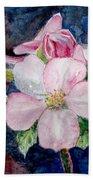 Apple Blossom - Painting Beach Sheet