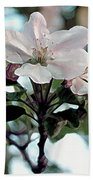 Apple Blossom Time Beach Towel