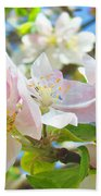 Apple Blossoms Art Prints Spring Trees Baslee Troutman Beach Towel