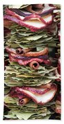 Garlands Of Apple Spice Potpourri Beach Towel
