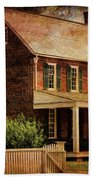 Appomattox Court House By Liane Wright Beach Towel