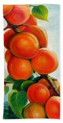 Apricots In The Garden Beach Towel