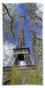 April In Paris Beach Towel